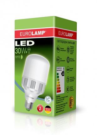 Светодиодная лампа высокомощная 30W E27 6500K LED-HP-30276