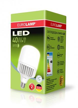 Светодиодная лампа высокомощная 40W E27 6500K  LED-HP-40276