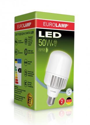Светодиодная лампа высокомощная 50W E40 6500K LED-HP-50406