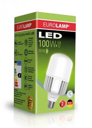 Светодиодная лампа высокомощная 100W E40 6500K LED-HP-100406