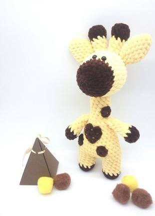 Игрушка ручной работы Жирафик