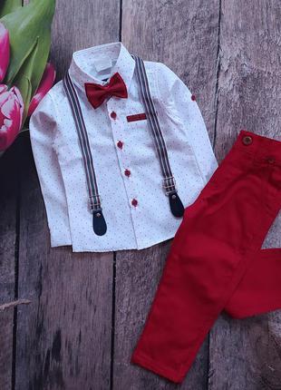 Бомбезний нарядний костюм для хлопчика,  1-8 років