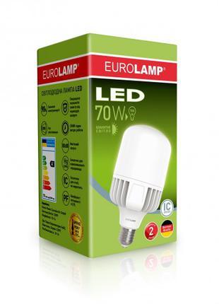 Светодиодная лампа высокомощная 70W E40 6500K LED-HP-70406
