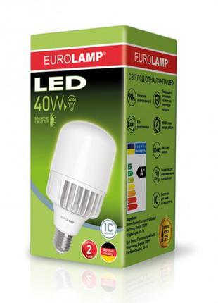 Светодиодная лампа высокомощная 40W E40 6500K LED-HP-40406