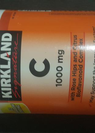 Витамин США  Kirkland С 1000 мг. 500 штук