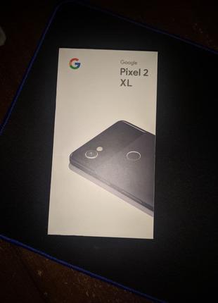 Google Pixel 2 XL 64 GB black ИДЕАЛ  + наушники Xiaomi(проводные)