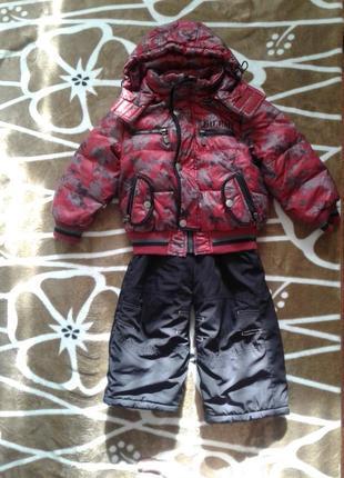 Зимний комбинезон,теплый костюм на мальчика,зимняя курточка и ...