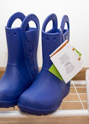 Crocs резиновые сапоги размер 13 с /30-31