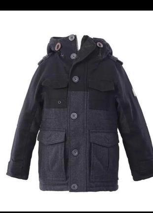 Шерстяное пальто на мальчика 9 -10 лет
