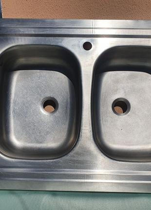 Мойка кухонная 80×60 см мийка кухонна