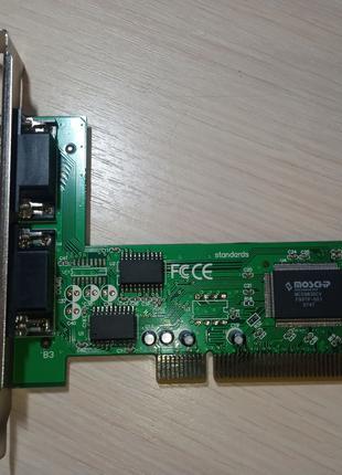 Плата расширения Gembird SPC-1 (2xCOM)