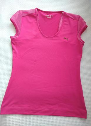Спортивная футболка с сетчатыми вставками puma оригинал m