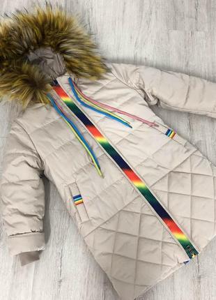 Зимняя куртка пальто парка пуховик