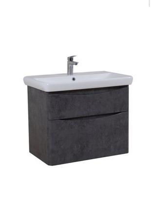 Тумба с умывальником ванную подвесная
