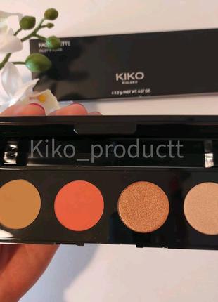 Палітра для обличчя KIKO Palette visage