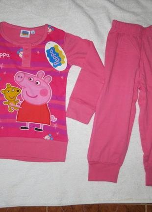 Новая пижама с пеппой в подарочной коробке 🎁