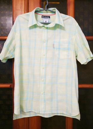 Рубашка мужская Columbia с коротким рукавом, L
