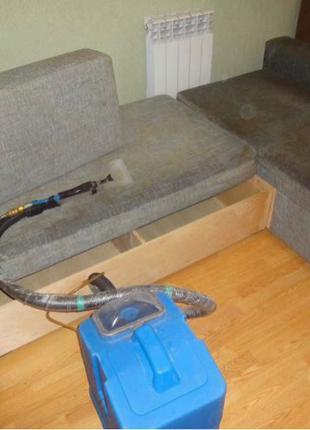 Химчистка мягкой мебели на дому диваны кровать кресло матрас