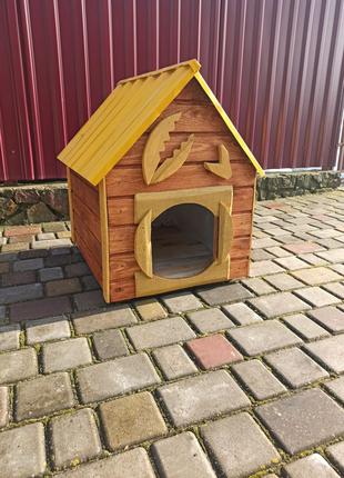 Будка для собаки (краб) + подарунок