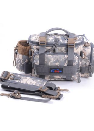 Особенности поясной сумки спиннингиста FanFish SP-30