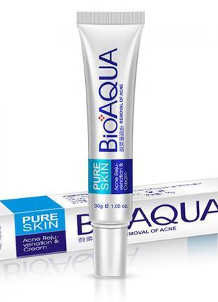 Крем для лица Анти Акне BIOAQUA Pure Skin Acne Rejuvenation & Cre