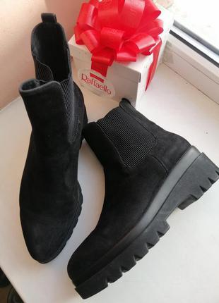 Ботинки челси на платформе 39р