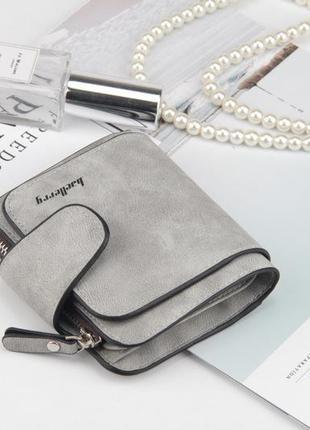 Кошелек baellerry forever mini серый