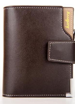 Мужской кошелек baellerry carteira mini коричневый