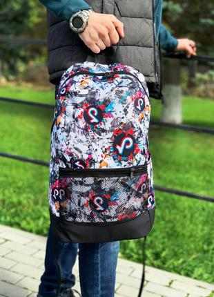 Рюкзак портфель tiktok качество топ , белый цвет