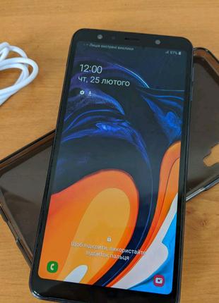 "Samsung A7 2018 ( 4/64 Гб) 6"", AMOLED."
