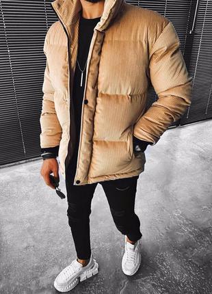 Топовая мужская куртка пуховик