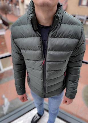 Топовая мужская зимняя куртка пуховик