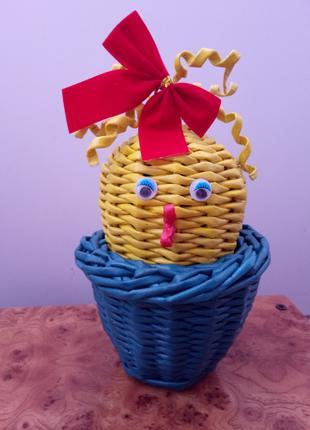 Яйце плетене