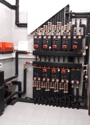 Монтаж систем опалення, водопостачання. м. Рівне