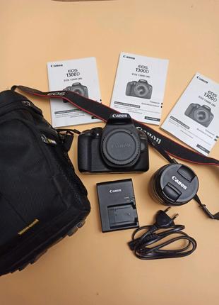 Фотоапарат Canon 1300d 18-55