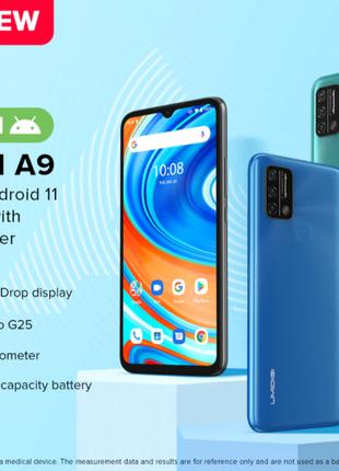 Новый UMIDIGI A9 глобальная версия 3/64 ГБ Android 11 Синий/Серый