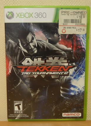 Диск с игрой Tekken TAG 2 для Xbox 360, ONE, ONE S, ONE X, Series