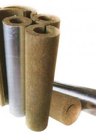 Базальтовые цилиндры для утепления труб.