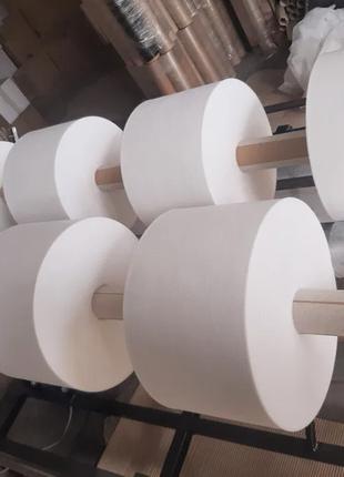 Порізка перемотування спандбонду агроволокна нетканих матеріалів