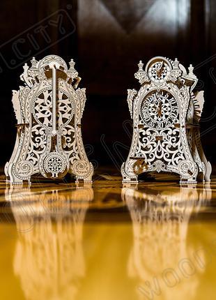 """Деревянная 3D модель """"Wooden city"""" Волшебные часы"""