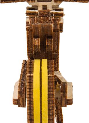 """Деревянная 3D модель """"Wooden city"""" Мотоцикл Cruiser V-twin"""