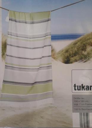 Шикарное, большое полотенце tukan 100*80 см