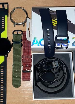 Samsung Galaxy Watch Active 2 44mm SM-R820 Aqua Black идеал + ...