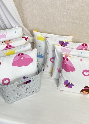 Защита бортики подушечки в кроватку
