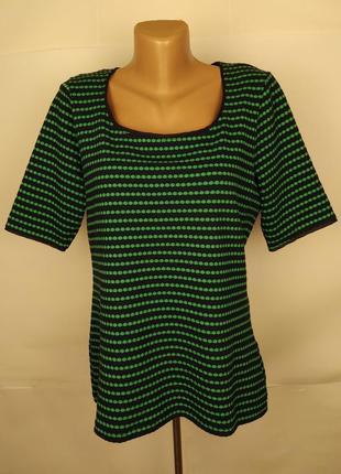 Блуза кофточка новая красивая в принт соты marks&spencer uk 14...