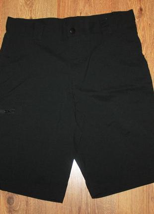 Мужские черные шорты карго crivit l