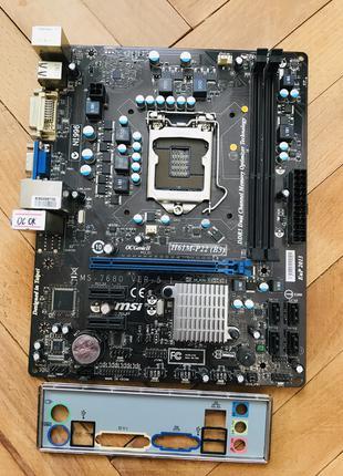 Материнская/Материнська плата MSI H61M-P22 (B3) Socket 1155