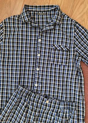 Мужская 💯% хлопковая пижама hema m s