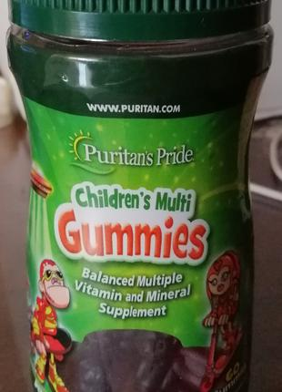Витамины для деток Children's Multivitamins and Mineral Gum