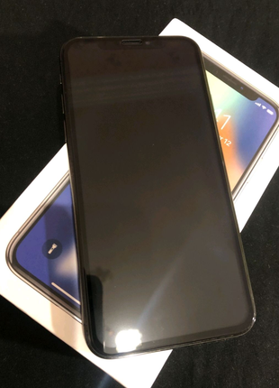 IPhone X 256 gb never